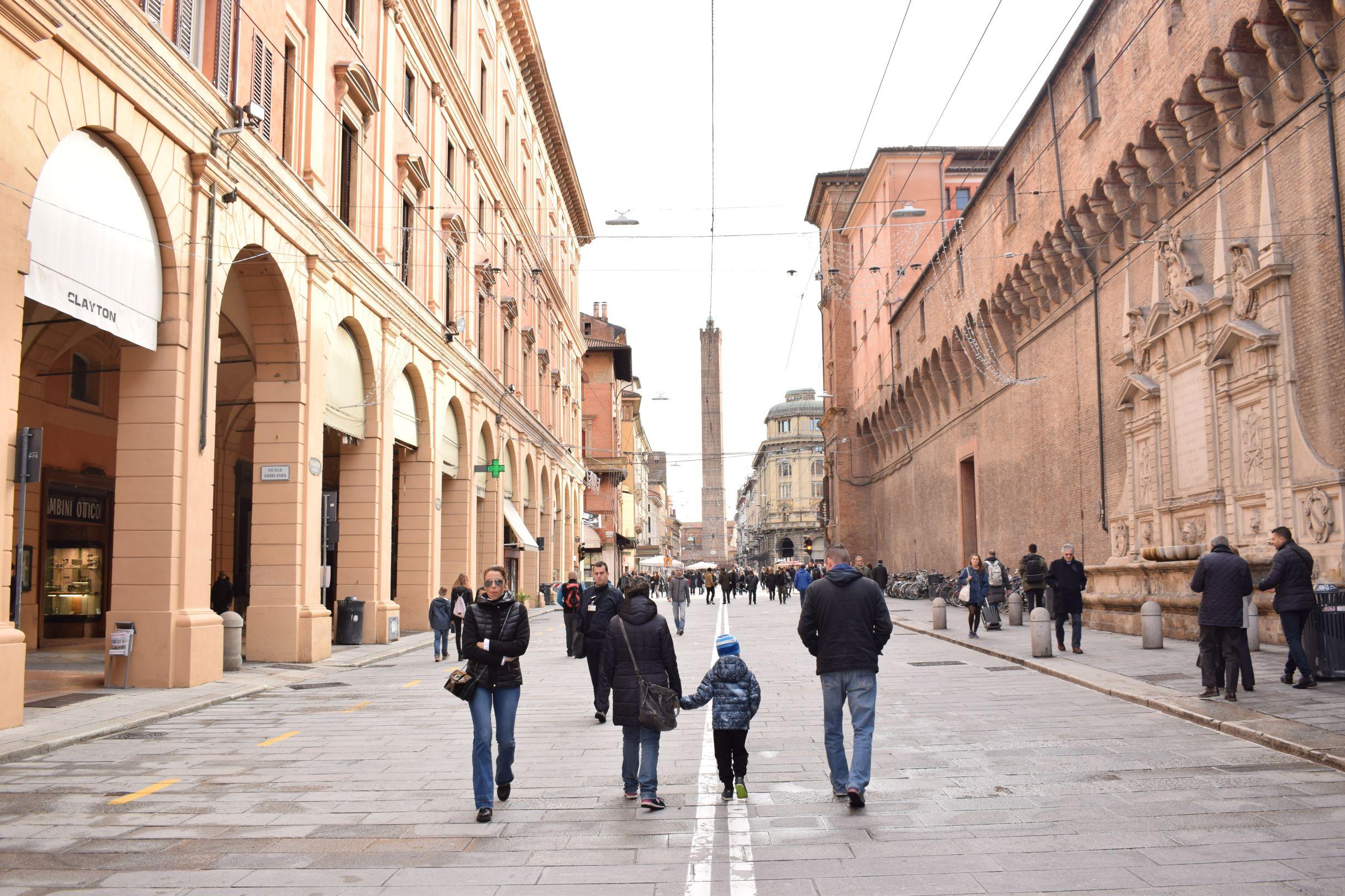 Van portici tot pasta: op bezoek in Bologna