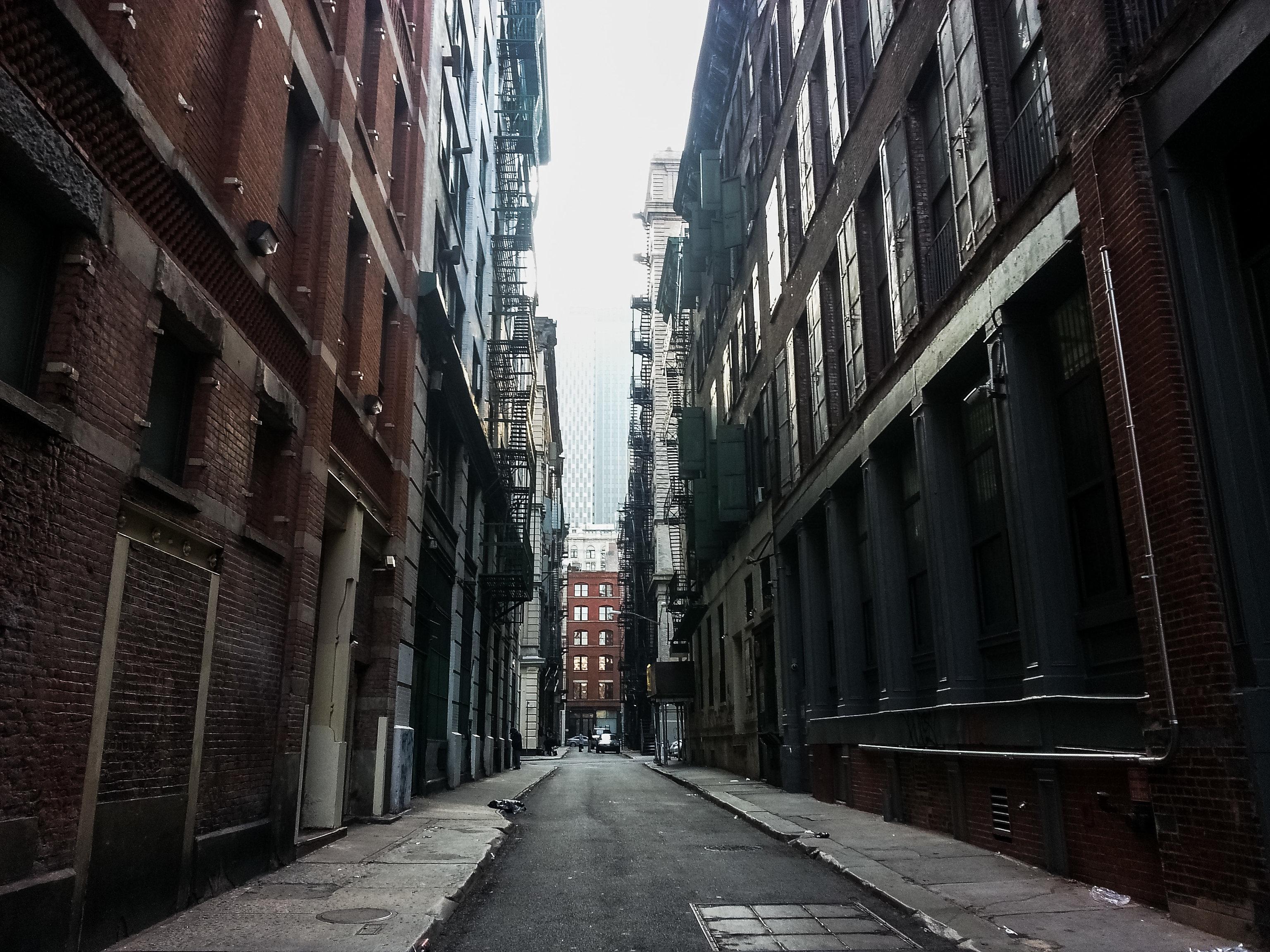 Cortlandt Alley: het enige steegje in New York dat je ooit hebt gezien