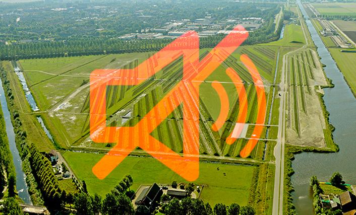 Hoe 'land art' in Nederland gebruikt wordt om geluidsoverlast tegen te gaan