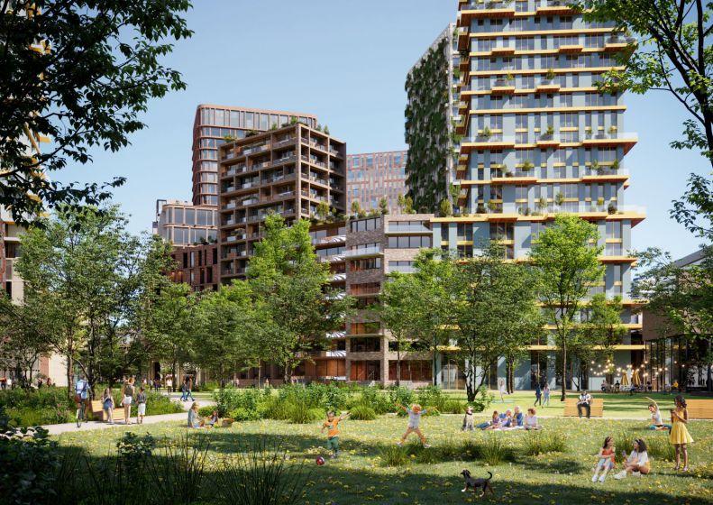Het Utrechtse Beurskwartier: stadsdeel van de toekomst?